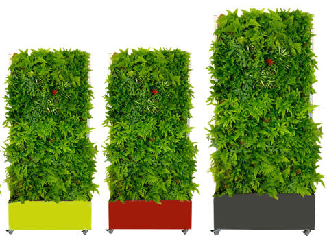 Le mur v g tal autoportant green logistique for Mur vegetal exterieur synthetique